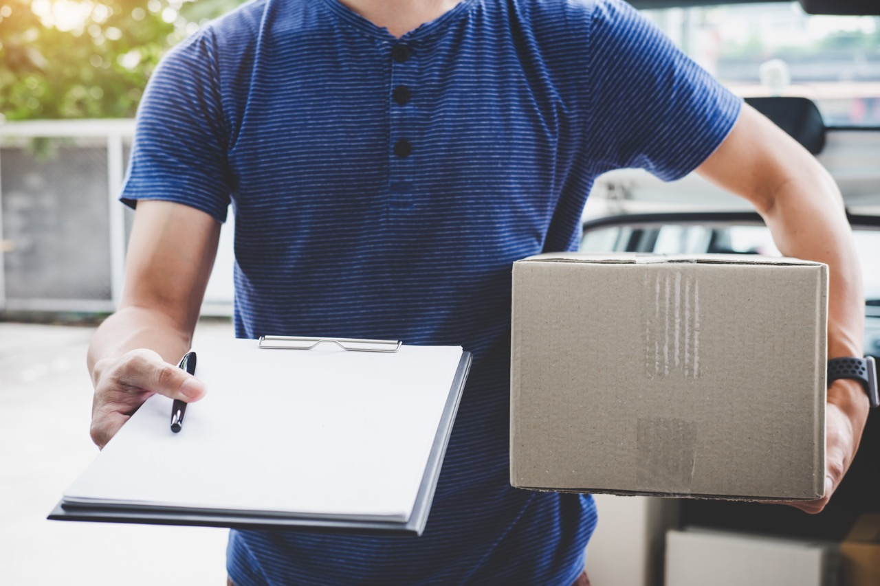Home delivery service and working with service mind
